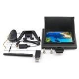 XK X251 RC Drone Spare Parts 5.8G FPV 4.3 Inch Monitor 720P Camera Parts Set