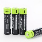 ZNTER 18650 3.7V 1500mAh USB Rechargeable 18650 Lipo Battery