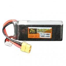 ZOP Power 11.1V 1400mAh 65C 3S Lipo Battery XT60 Plug