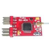 2.4G 4CH Mini Receiver Compitable Frsky X9D PLUS XJT DJT DFT DHT