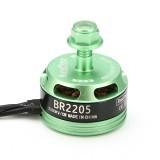 Racerstar Racing Edition 2205 BR2205 2300KV 2-4S Brushless Motor CW/CCW Green For QAV250 ZMR250 260