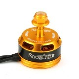 Racerstar Racing Edition 2205 BR2205 2600KV 2-4S Brushless Motor CW/CCW Yellow For QAV250 ZMR250 260