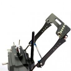 Transmitter Support Holder Mount Foldable Monitor Bracket for Futaba Radiolink JR Frsky Transmitter
