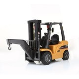 HuiNa 577 Forklift Alloy Metal Plastic 2.4G 8CH Remote Control Truck Multi-players Toy Gift