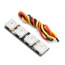 0.7g Super Mini WS2812B RGB5050 4 Bit Colorful LED Strip for Naze32 F3 F4 Flight Control