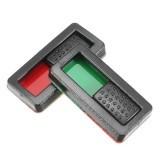 EV-PEAK 10pcs Battery Power Display Indicator Battery Charge Marker