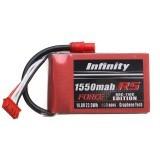 Infinity Graphene 14.8V 1550mAh 80C 4S RS FORCE EDITION Lipo Battery SY60 Plug