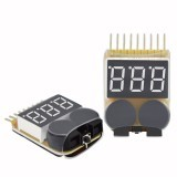 Lipo Battery Low Voltage Tester 1S-8S Buzzer Alarm