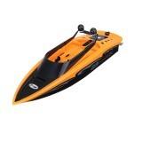 2.4Ghz 4 Channel Charging High-Speed Wireless RC Racing Boat Waterproof Orange