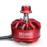 Racerstar 2406 BR2406S Fire Edition 2600KV 2-4S Brushless Motor For X220 250 280 300 Racing Drone