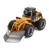 HuiNa Toys 1586 Snow Clearer 1:18 Engineering Truck Snowplows 6 Channels 2.4G Alloy Remote Control Car