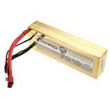 Gens Ace 7.4V 7000mAh 50C 2S Lipo Battery 4mm Banana Plug for Axial AX10 Scorpion 1/8 RC Car