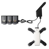 2 in 1 Car Charger for DJI Spark Battery Charging Hub and Remote Control