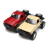 WPL C14 1/16 2.4G 4WD Off Road Remote Control Military Car Rock Crawler Truck With Front LED RTR Toys