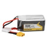 Max Power 14.8V 1500mAh 65C 4S FORCE Lipo Battery XT60 Plug for Wizard X220S RC Drone FPV Drone