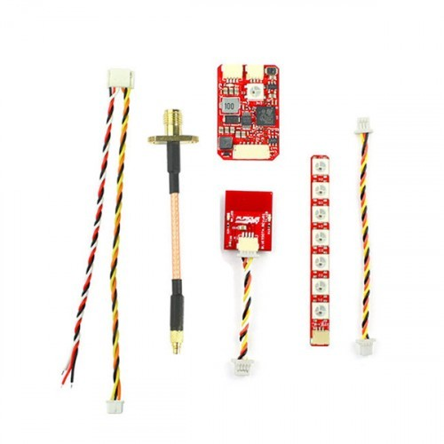 FuriousFPV Combo Stealth Long Range FPV VTX 700mW with LED Strip and  Bluetooth Module for RC Drone