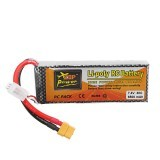ZOP Power 7.4V 6500mAh 30C 2S XT60 Plug Lipo Battery For RC Drone Airplane