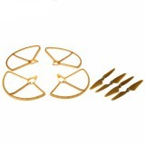 Hubsan H501S X4 RC Drone Spare Parts Propeller Pack with Blade Protector Guard