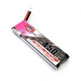 GAONENG GNB 4.35V 450mAh 1S 80C HV Battery PH2.0 Plug White Plug For E010 M80S Tiny7 RC Model