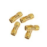 5 PCS RP-SMA Female to RP-SMA Female RF Coaxial Adapter Antenna Connector For FPV RC Drone