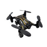 Flytec SBEGO 132W 2.4G 4CH Mini Pocket FPV Wifi Flying Remote Control Racing Car 360 Degree Drone Drone