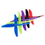5 Pairs 5040 4 Blade Propeller 5.0mm Mounting Hole For RC Drone FPV Racing Multi Rotor