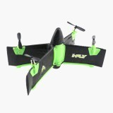 X99A 2.4G 4CH Flying Wing With Altitude Hold Mode RC Rocket Drone RTF