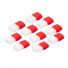 10 PCS RJX XT60 Charged Discharged LiPo Battery Indicator Caps Protective Cover for RC Drone