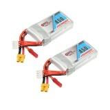 2 X Gaoneng GNB 11.1V 450mAh 80/160C 3S Lipo Battery JST/XT30 Plug