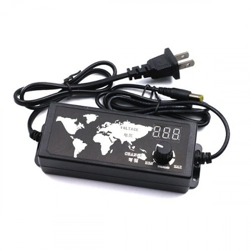100-240V AC To DC 3-24V Adjustable Voltage Power Adapter 30W 1 5A / 60W  2 5A Optional