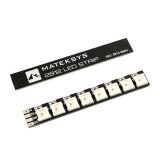 2X Mateksys 2812 LED Strip Slim Board 5V for RC Drone FPV Racing