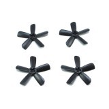 4 Pairs LX1836 1.8 Inch 45mm 5-blade Propeller 1.5mm Mounting Hole for RC Drone 0806 0905 1104 Motor