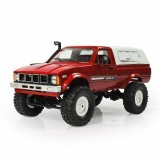 WPL C-24 1/16 4WD 2.4G Military Truck Buggy Crawler Off Road Remote Control Car 2CH RTR Toy