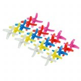 20PCS 48mm 4-Blade Propeller Sets For KINGKONG/LDARC TINY 8X RC Drone Drone