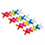 20PCS 40mm 4-blade Propeller for Kingkong/LDARC TINY R7 7/7X Inductrix FPV + RC Drone Drone