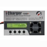 iCharger 106B+ 250W 10A 1-6S DC Battery Synchronous Balance Charger Discharger