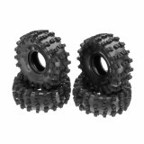 4PCS 2.2 Inch Rubber Climbing Remote Control Car Tire For 1/8 SCX10 Axial RR10