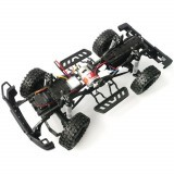 HG P402 1/10 2.4G 4WD Wheel Drive Roadster Climbing Remote Control Car Upgrade Metal Chassis