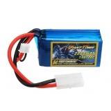GIANT POWER 7.4V 2200mAh 100C 2S Lipo Battery With TAMIYA Plug For TAMIYA T3-01 RC Tricycle