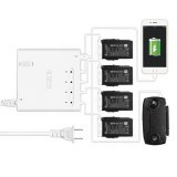 6-in-1 Multi Battery Charger Intelligent Charging Hub Full/Storage Charge Mode for DJI Mavic Air