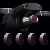 PGYTECH Camera Lens Filter Kit Combo ND8 ND16 ND32 ND64 4Pcs Waterproof for DJI Mavic 2 Zoom Drone