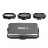 3PCS Set ND4+ND8+ND16/MCUV+CPL+ND8 Camera Lens Filter For DJI MAVIC 2 ZOOM RC Drone