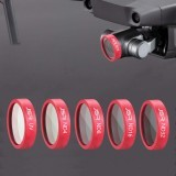 Waterproof Camera Lens Filter 1pc UV CPL ND4 ND8 ND16 ND32 STAR For DJI MAVIC 2 Zoom Drone