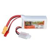 ZOP POWER 7.4V 850mAh 70C 2S Lipo Battery With JST Plug XT60 Plug For RC Models