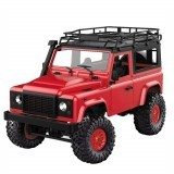 MN-90 1/12 2.4G 4WD Rc Car With Front LED Light 2 Body Shell Rock Crawler Monster Truck RTR Toy