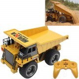 HuiNa Toys 1540 1/12 2.4G 6CH Electric Rc Car Dump Truck Alloy Engineering Vehicle