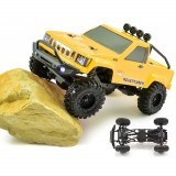 RGT Remote Control Car 1/24 136240 4WD 4x4 Lipo mini Monster Off Road Truck RTR Rock Crawler With Lights
