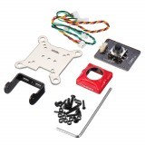 Caddx CM07 Camera Protective Case Set OSD Board Bracket AV Cable for Caddx Turtle V2 Black/Red
