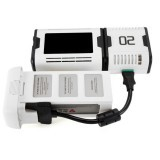 Charsoon 100W 10A Magical Core LCD Battery Charger with 50W 5A Cube For DJI Phantom FPV Drone