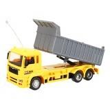 Ao Hai 3824 Wireless 1/24 8CH Electric Rc Car Engineering Dump Truck W/ Light Music Toy